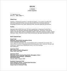 resumes for chefs chef resume sample examples sous chef jobs free