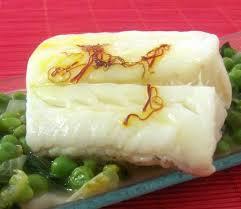 cuisine cabillaud pavés de cabillaud cuisson sous vide ragoût de petits pois du