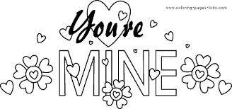 valentine u0027s color coloring pages kids holiday