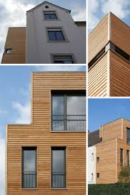 moderne holzhã user architektur moderner anbau mit holzfassade trifft auf klassischen altbau