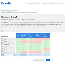 doodle poll ifneedbe doodle s free survey maker doodle