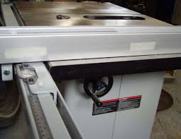 central machinery table saw fence delta table saw fence question woodworking talk woodworkers forum