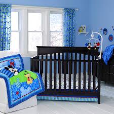Nursery Bedding Sets Canada by Bathroom Entrancing Blue Mickey Mouse Crib Bedding Cotton Full