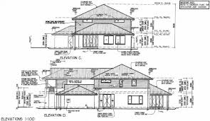 house plans with rear view front view house plans rear and panoramic plan with extraordinary