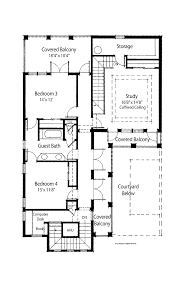 Mediterranean Floor Plans With Courtyard by Mediterranean Home Plans With Courtyards Good Mediterranean Home