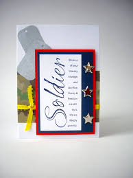 soldier card thank you card memorial by jdoorecreations