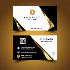Luxury Business Cards Luxury Business Card Design Vector Free Download