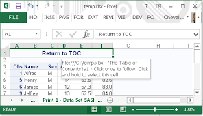 Sas 70 Report Exle by Tips For The Ods Excel Destination Sas Users