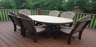 Poly Lumber Outdoor Furniture USA Made Aliquippa PA - Patio furniture made in usa