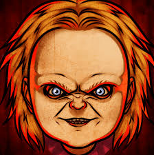 how to draw chucky easy step by step movies pop culture free