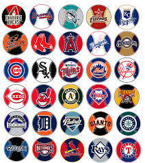 major league baseball logo mlb major league baseball prismatic
