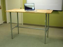 Diy Adjustable Standing Desk Effortless Diy Adjustable Standing Desk Boundless Table Ideas