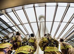 Firefighters Stair Climb by Firefighters Prepare For Emotional Event San Antonio Express News