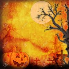 cartoon halloween background halloween background make for recycle paper stock photo picture