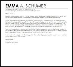 inspirational bereavement leave letter how to format a cover letter