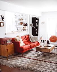 Living Room With Red Sofa by Pinterest Chandlerjocleve Instagram Chandlercleveland Https