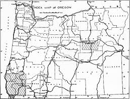 A Map Of Oregon by Chromite Mining