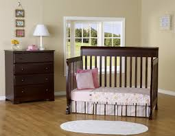 Convertible Crib With Toddler Rail by Bedroom Make Your Nursery More Chic With Cheap Cribs