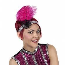 flapper headband 20s flapper headband ostrich a masquerade costume