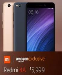 amazon xiaomi redmi 4a flipkart amazon snapdeal price in india sale date 30th march