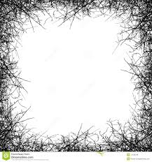 leafless tree border stock vector illustration of black 31189348