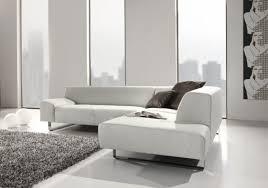 m canapé canapé d angle minimaliste 5 places en cuir m madonna