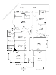 Floor Plans Com by Floor Plan With Dimensions 2d Single Floor House Plans House Floor