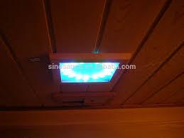 Keys Backyard Infrared Sauna by New Design Best Price Low Emf Far Infrared Sauna Cabin Prefab