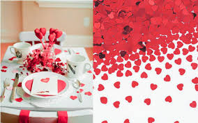 day table decorations table decoration ideas for valentines day captivating table