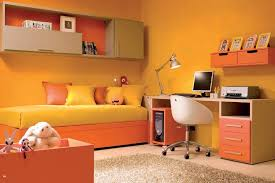 teenager study room with yellow walls good interior paint color
