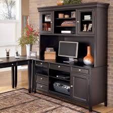 ashley furniture carlyle large leg desk carlyle large credenza and large hutch by ashley furniture http