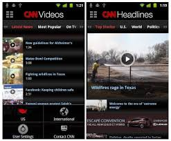 cnn app for android cnn app finally available for android phones mobiputing