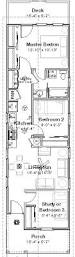Shotgun House Design Small House Plan Two Bedrooms Suitable To Narrow Lot Affordable