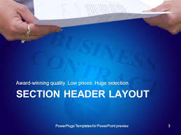 Powerpoint Real Estate Templates by Powerpoint Template Real Estate Business Contract With Hands