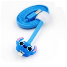 Light Up Iphone Charger Out Of This World Light Up Stitch Usb Phone Cable Disney