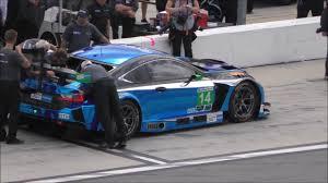 lexus sports car racing new lexus rc f gt3 testing at daytona youtube