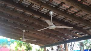 Ceiling Fan Dining Room 2 Kdk Ceiling Fans At Dining Room In Church Youtube