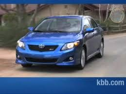 toyota corolla kelley blue book 2009 toyota corolla review kelley blue book
