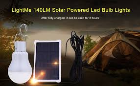 Solar Energy Lighting - amazon com lightme portable 15w 140lm solar powered led bulb