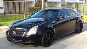 for sale black 2010 cadillac cts v6 sedan