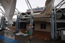tropical cyclone debbie lashes northeast australia wsj