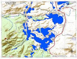 Smith Mountain Lake Fishing Map Saint Regis Canoe Area U2013 Andy Arthur Org