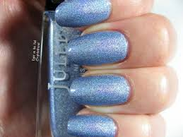 right on the nail julep holographic polish swatches and review tali