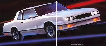 84 Monte Carlo Ss Interior Modern Classics 1983 1988 Monte Carlo Ss Phscollectorcarworld