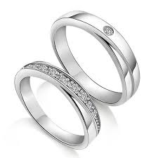 couples wedding bands diamond wedding rings for couples custom names engraved couples