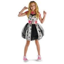 Halloween Costume Polka Dot Dress Hannah Montana Pink Polka Dot Dress Deluxe Costume Disguise 50451