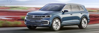 new volkswagen sports car 2017 vw touareg 4x4 suv price specs release date carwow
