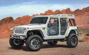 jeep prototype truck the jeep safari concept has truck wheels and room for four