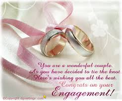Wedding Engagement Congratulations Congratulations On Engagement Card