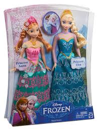 amazon disney frozen royal sisters doll 2 pack toys u0026 games